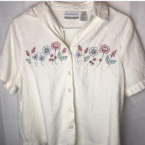 Vintage Floral Top!